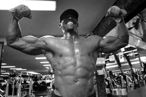 wordt een bodybuilder
