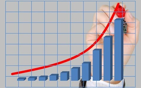 business met exponentiële groei