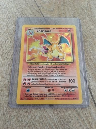 Waarde van Pokémon kaart Charizard
