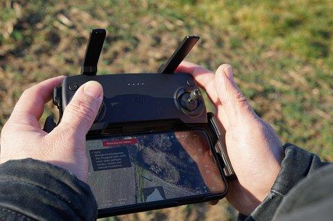 Geld verdienen met drone door luchtfoto