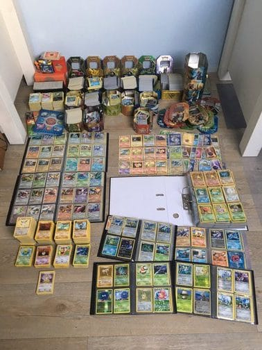 Mega veel geld met Pokémon kaarten