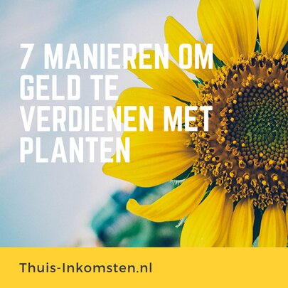 verdienmethodes voor planten