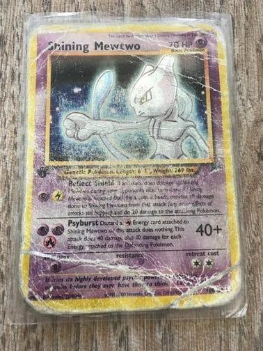 Shining Pokémon kaarten waarde