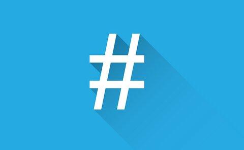 geld met Twitter hashtags