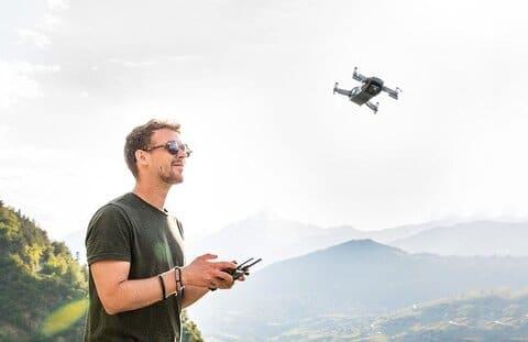drone verhuur bedrijf