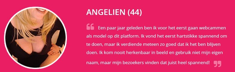 ervaringen van webcammodel op Clubislive.nl
